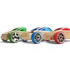 Набор автомобилей-конструкторов Automoblox Mini T9/S9/C9 3-pack