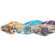 Набор автомобилей-конструкторов Automoblox Mini A9-S/X9-X/M9 3-pack