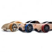Набор автомобилей-конструкторов Automoblox Mini C9-R/S9-R/C9-S 3-pack